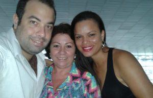 Eu, minha linda mãe e a Elis